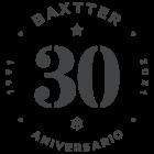 Logo Baxtter, 30 años